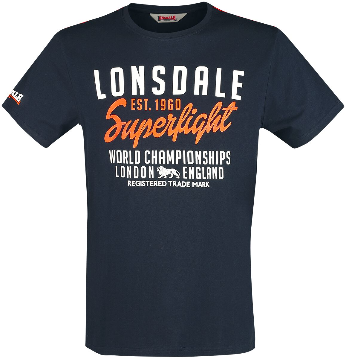 Image of Lonsdale London Bredon T-Shirt dunkelblau