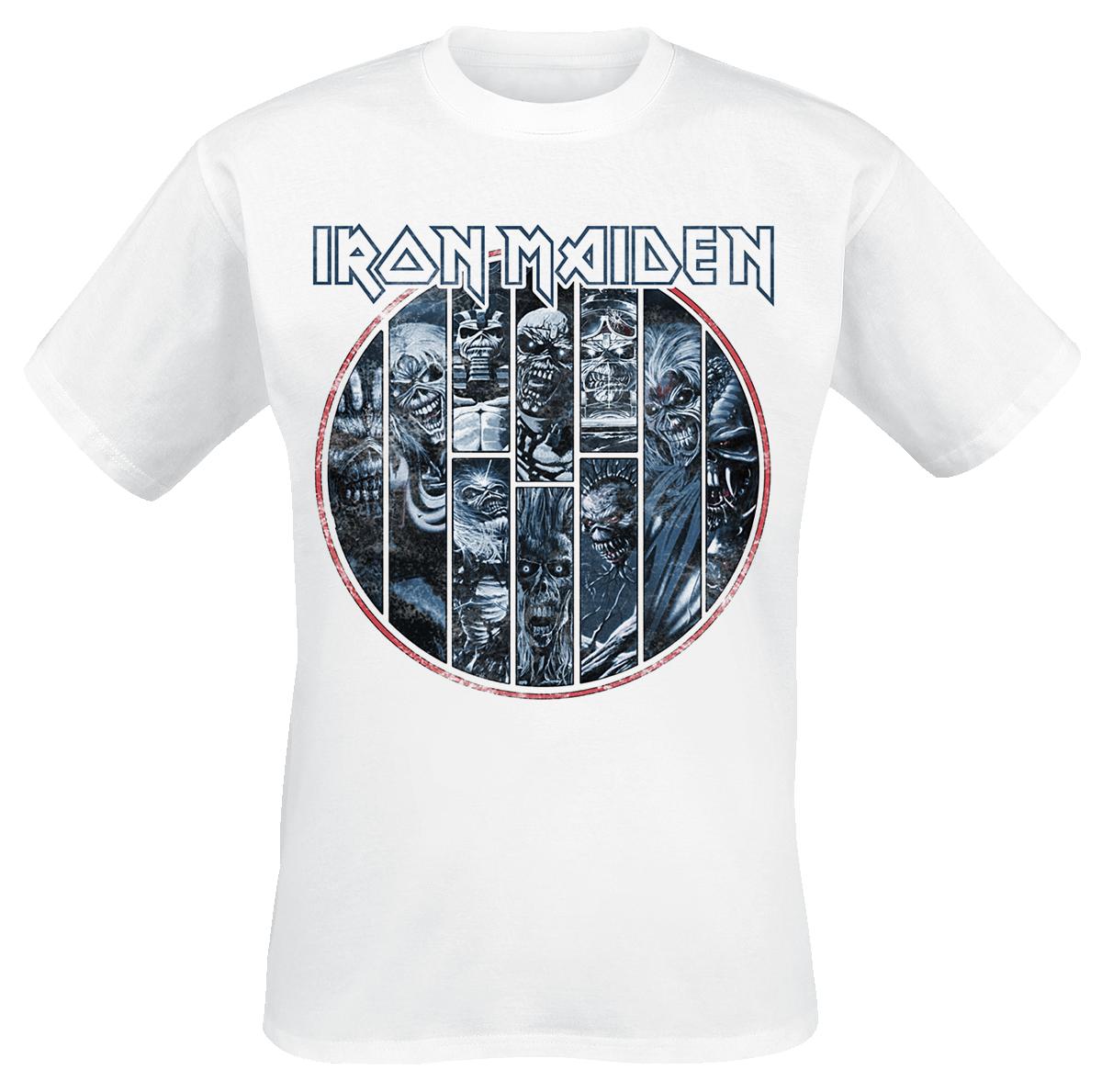 Iron Maiden - Ten Circles Eddie - T-Shirt - white image
