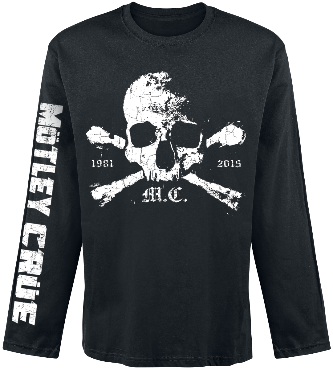 Mötley Crüe - Orbit Skull - Longsleeve - black image