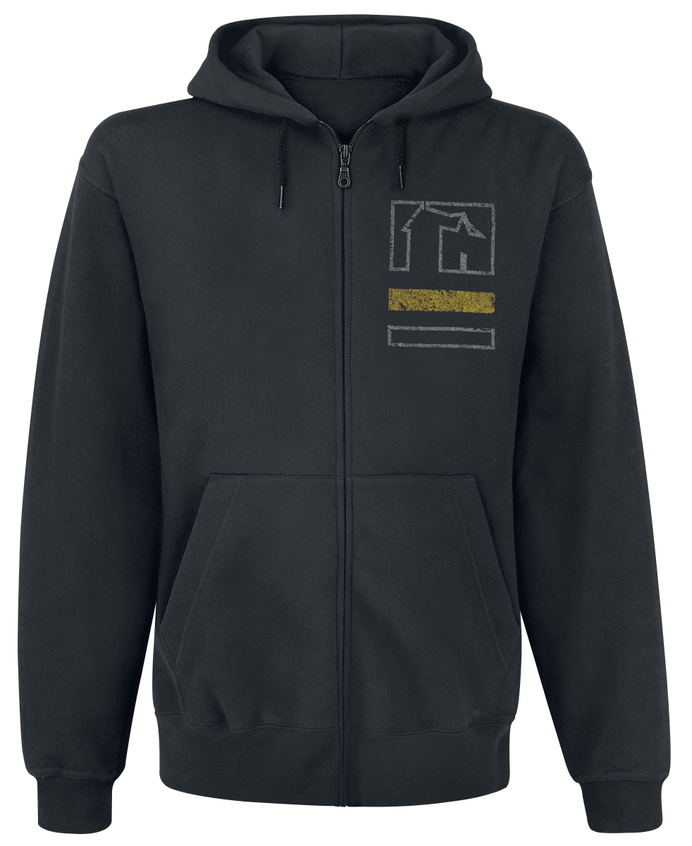 Coheed And Cambria - Together Crest - Hooded zip - black image