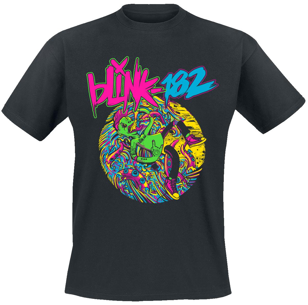 Blink 182 - Alien - T-Shirt - black image