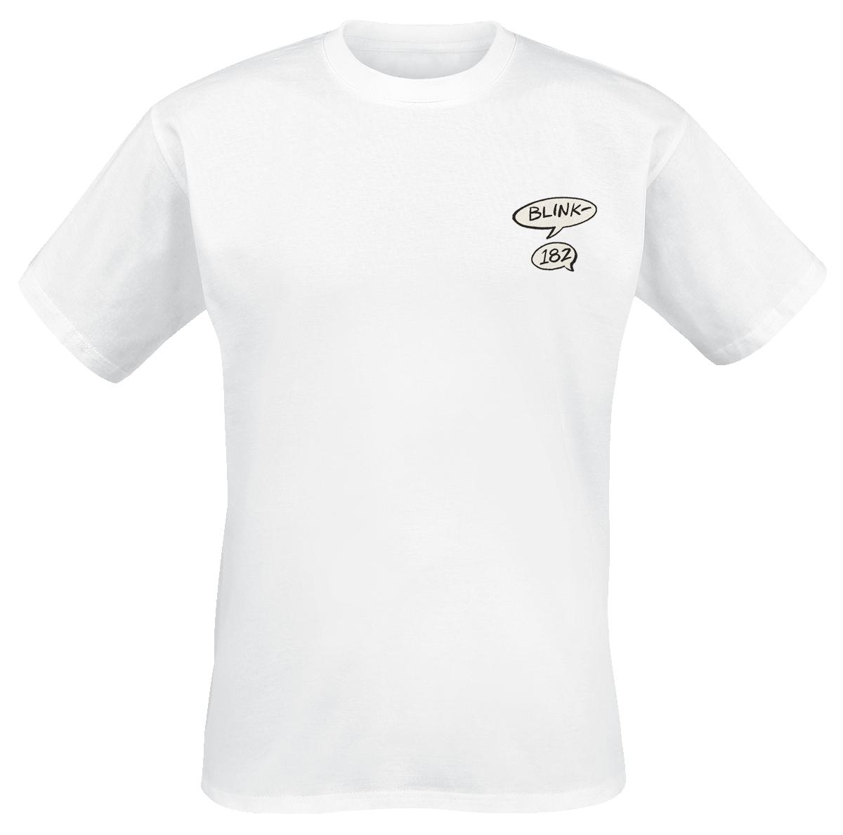 Blink 182 - Rabbit - T-Shirt - white image