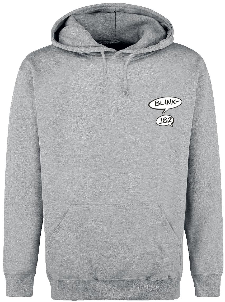 Blink 182 - Rabbit - Hooded sweatshirt - grey image