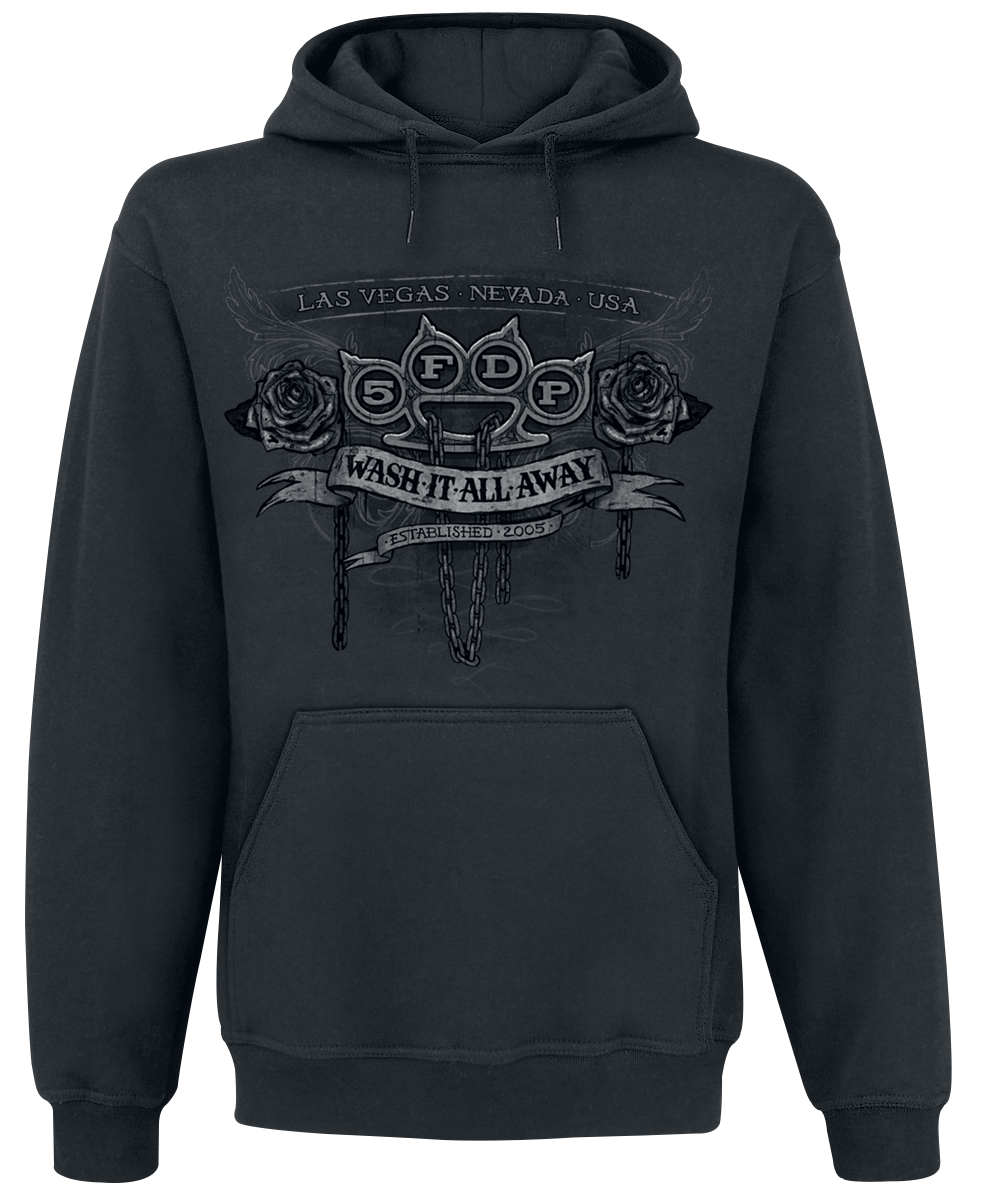 Five Finger Death Punch - Wash It All Away - Hooded sweatshirt - black image