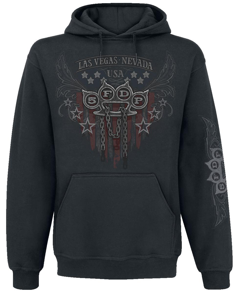 Five Finger Death Punch - Eagle Color - Hooded sweatshirt - black image