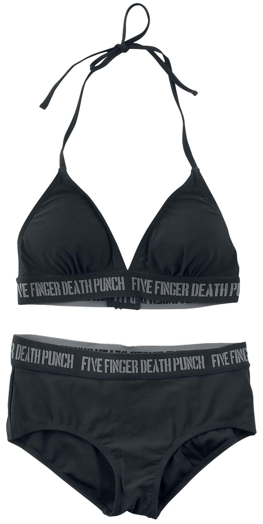 Image of Five Finger Death Punch EMP Signature Collection Bikini schwarz