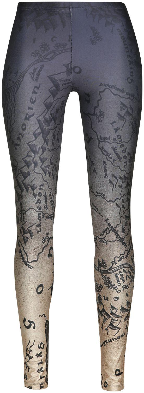 Hosen - Der Herr der Ringe Middle Earth Leggings multicolor  - Onlineshop EMP