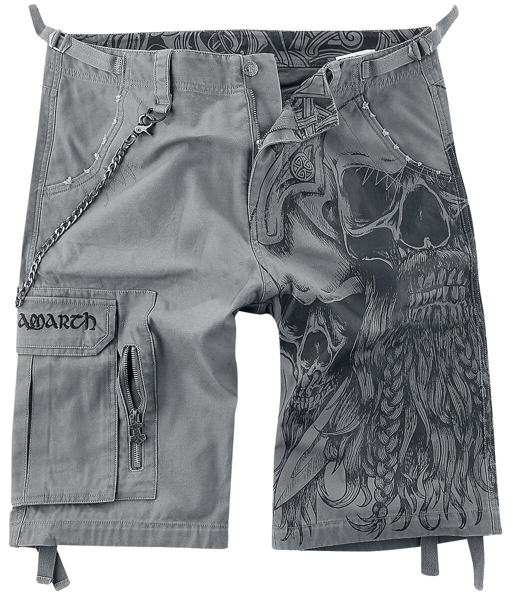 Image of Amon Amarth EMP Signature Collection Shorts grau