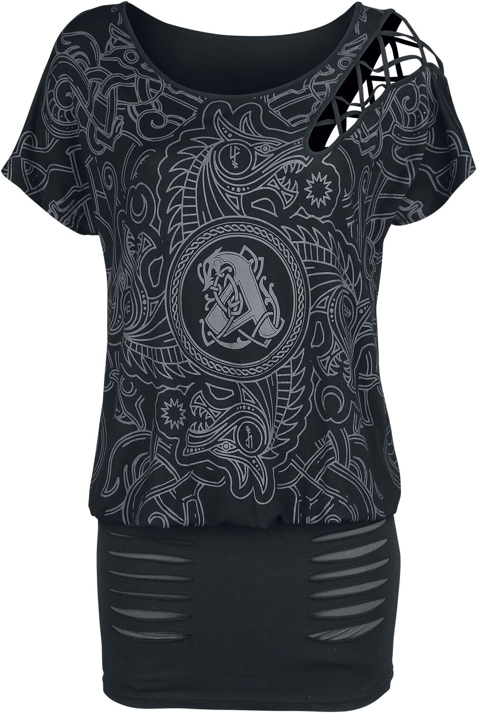 Image of Amon Amarth EMP Signature Collection Kleid schwarz