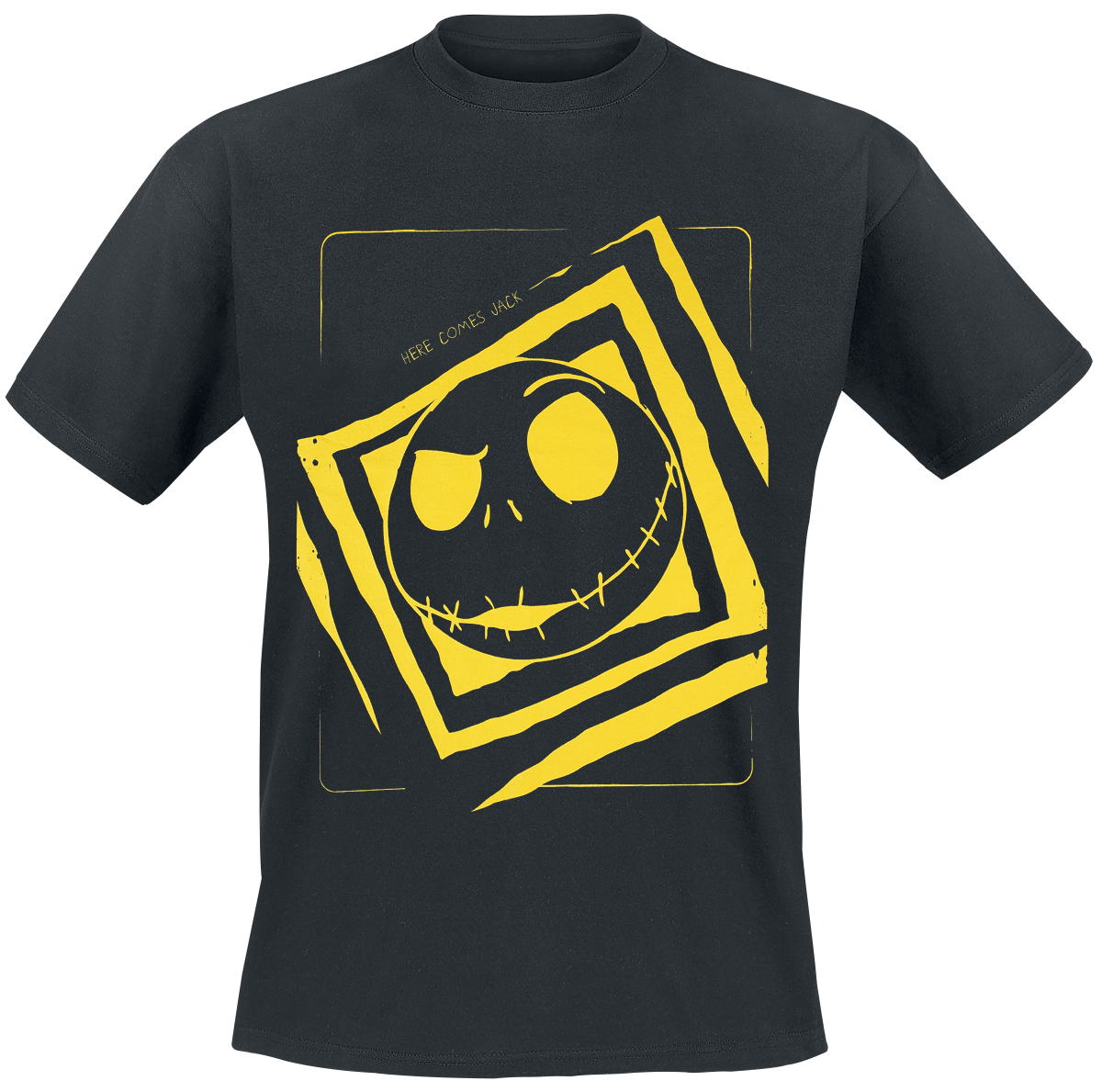 Nightmare Before Christmas - Here Comes Jack - T-Shirt - black image
