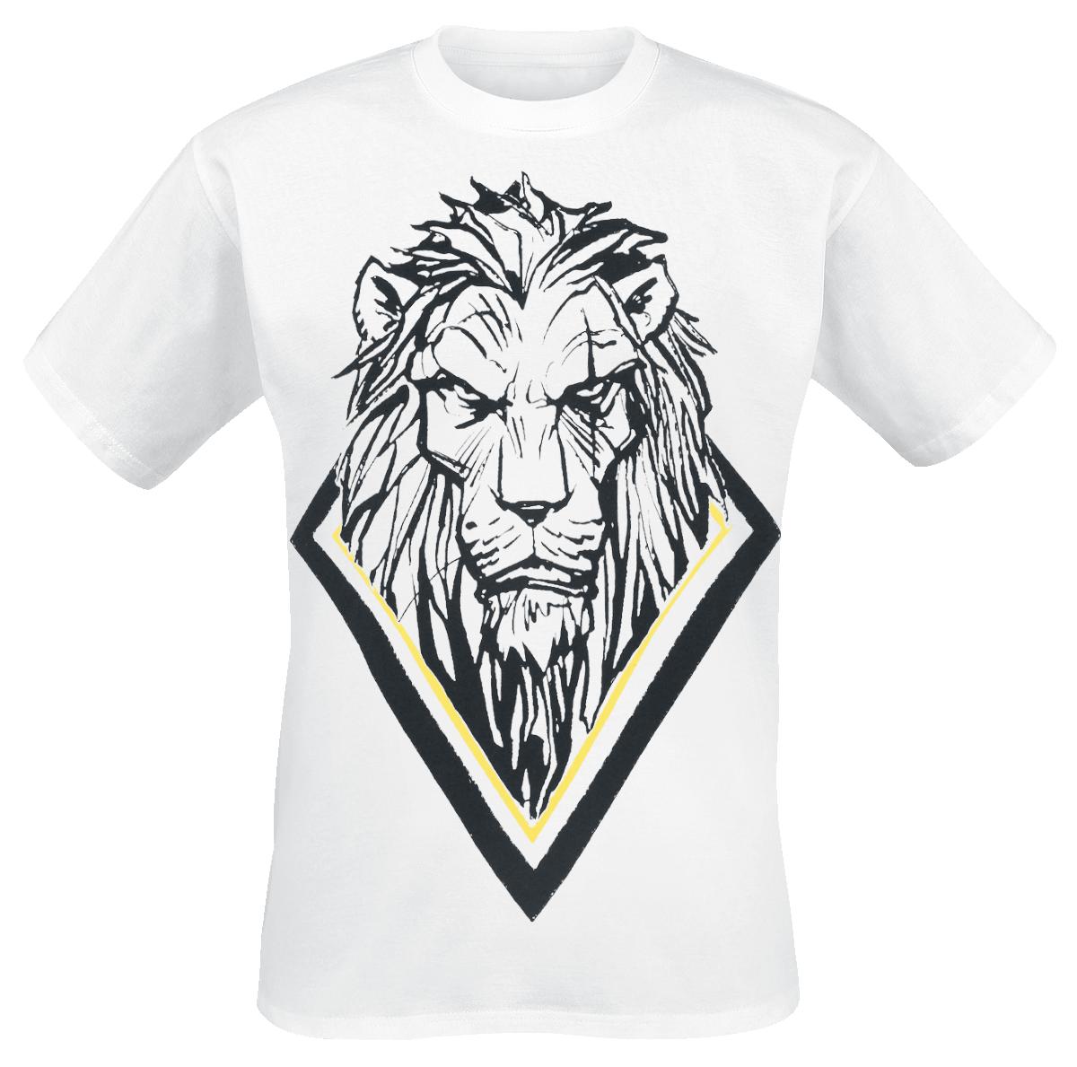 The Lion King - Scar - T-Shirt - white image