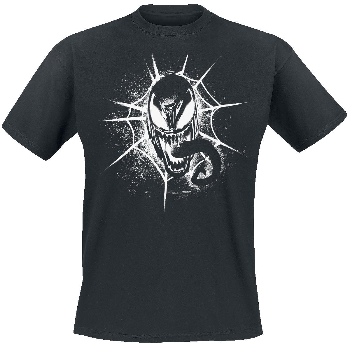 Venom (Marvel) - Head - T-Shirt - black image