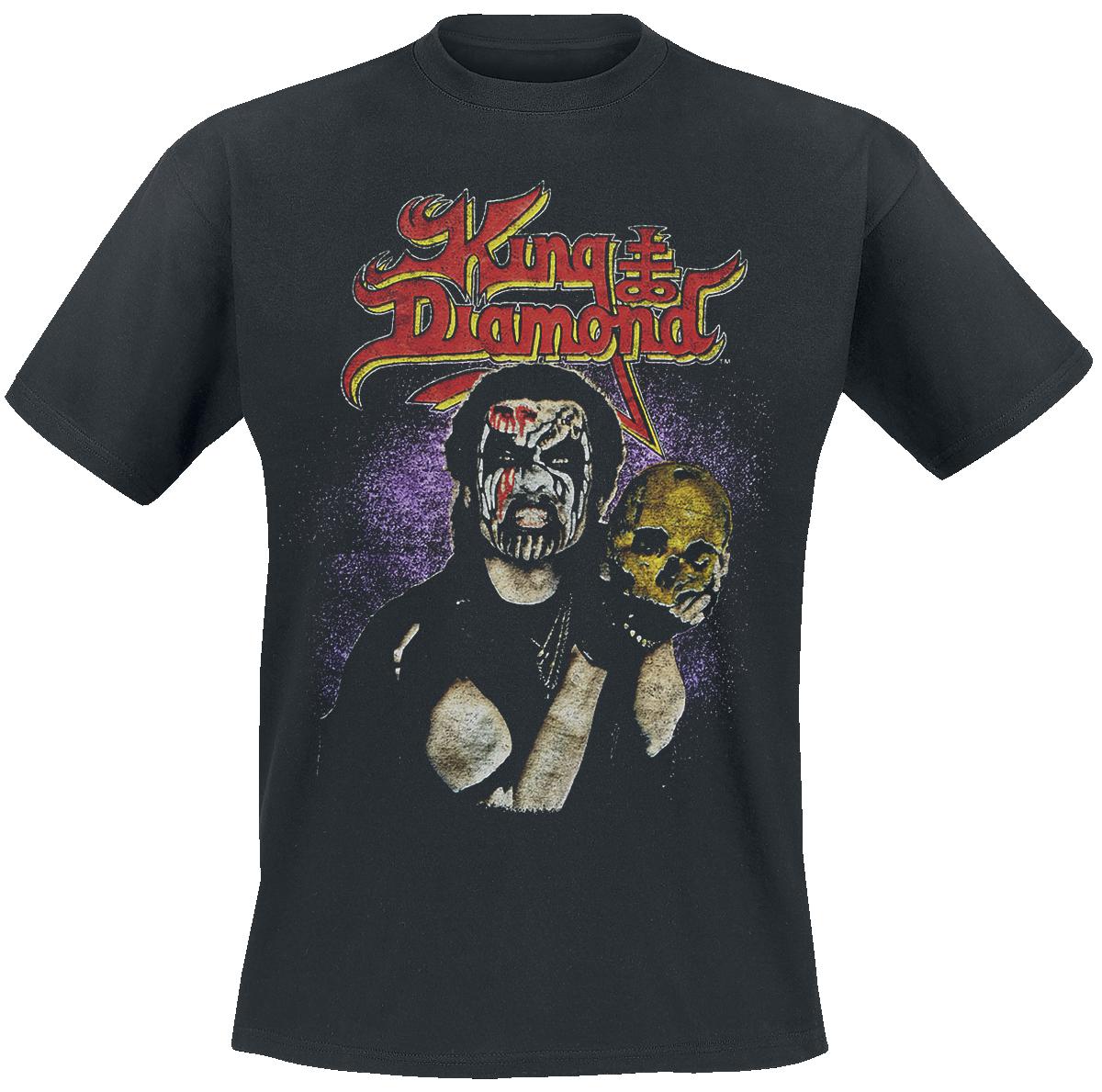 King Diamond - Conspiracy Tour 89 - T-Shirt - black image