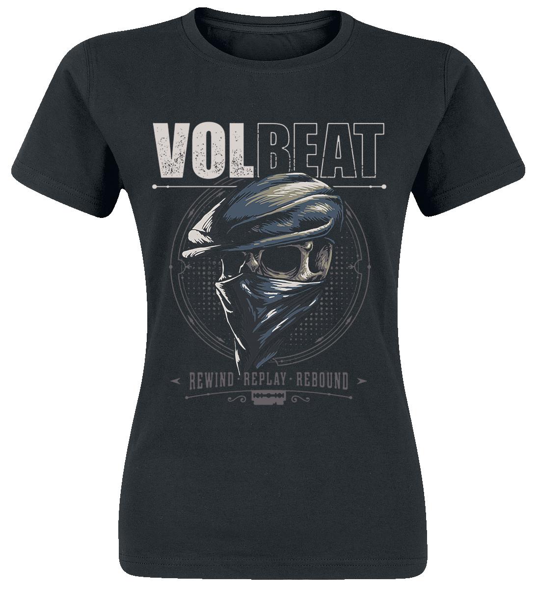 Volbeat - Bandana Skull - Girls shirt - black image
