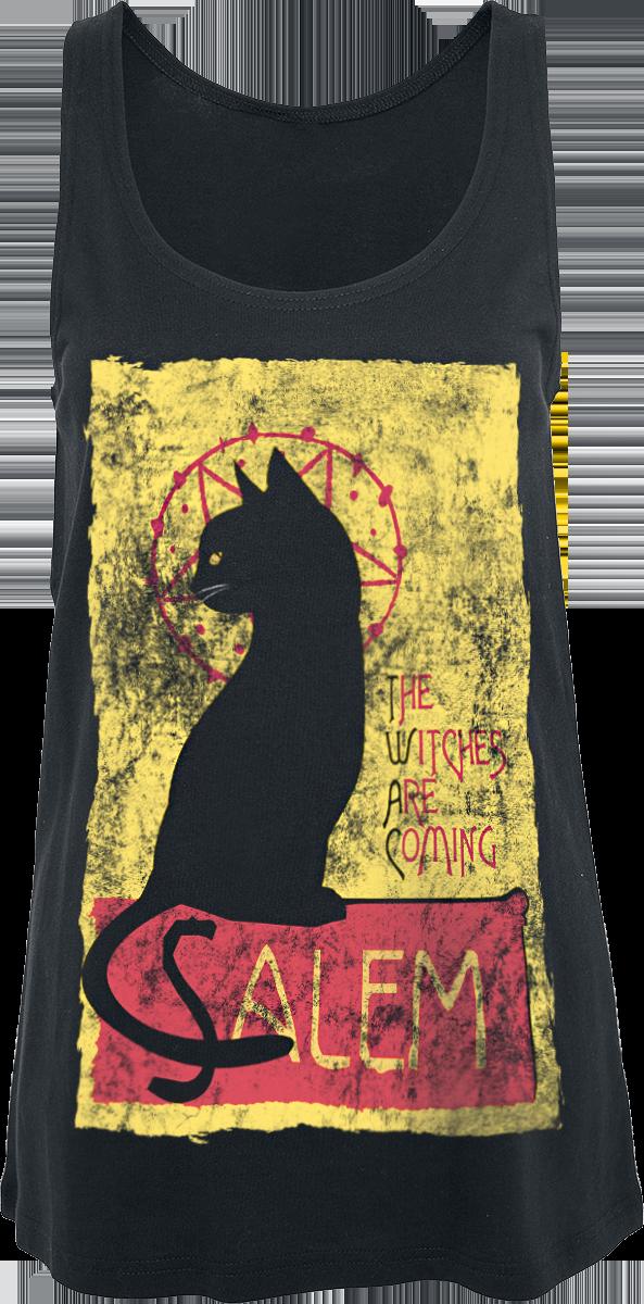 Chilling Adventures of Sabrina - Salem - Girls Top - black image