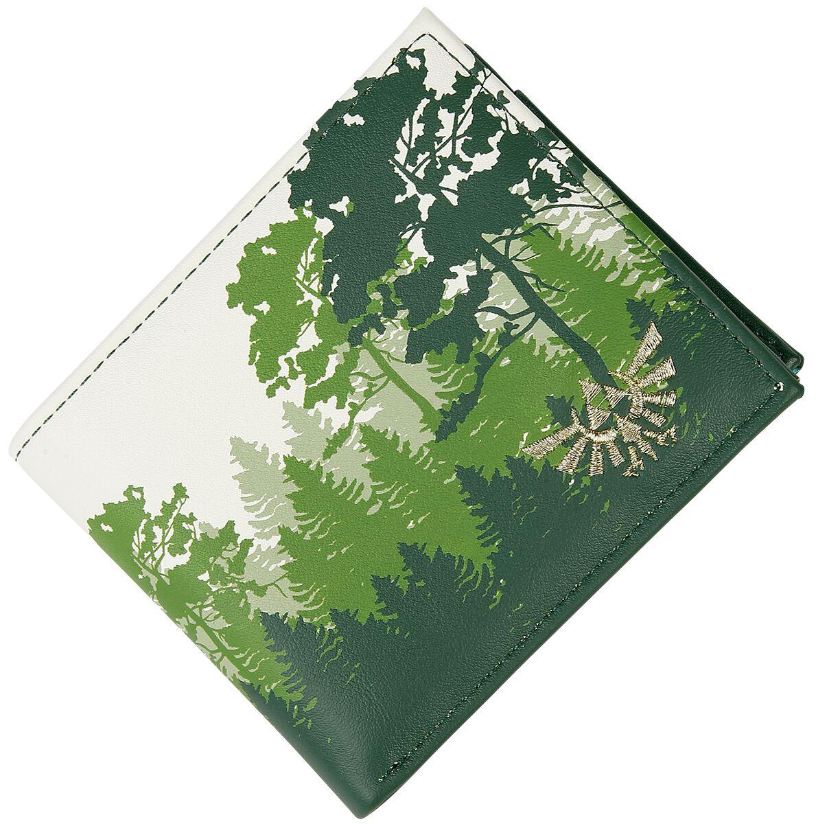 The Legend Of Zelda Green Forest Geldbörse grün weiß MW067763ZEL