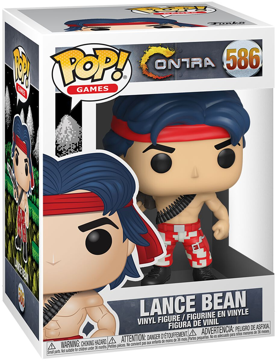 Contra  Lance Bean Vinyl Figur 586  Sammelfigur  Standard