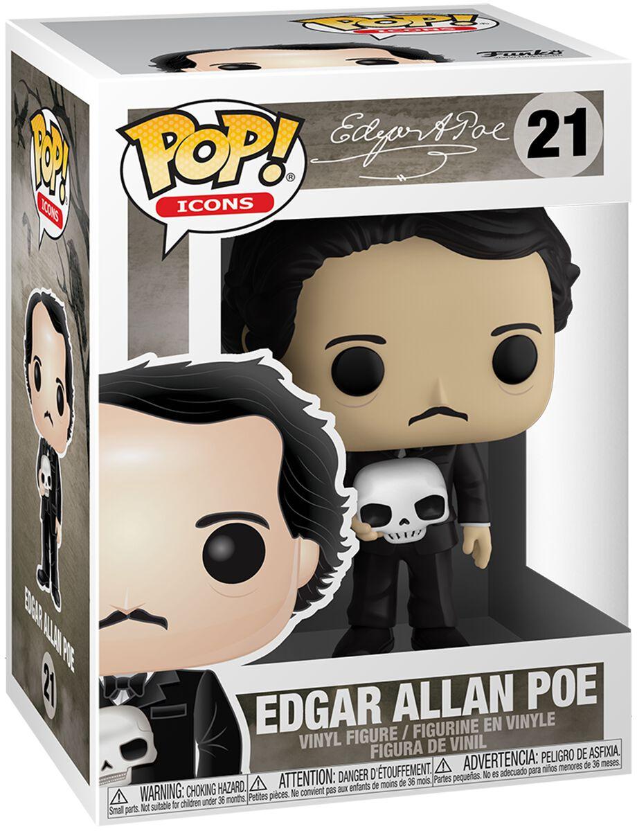 Edgar Allan Poe  Edgar Allen Poe Vinyl Figur 21  Sammelfigur  Standard