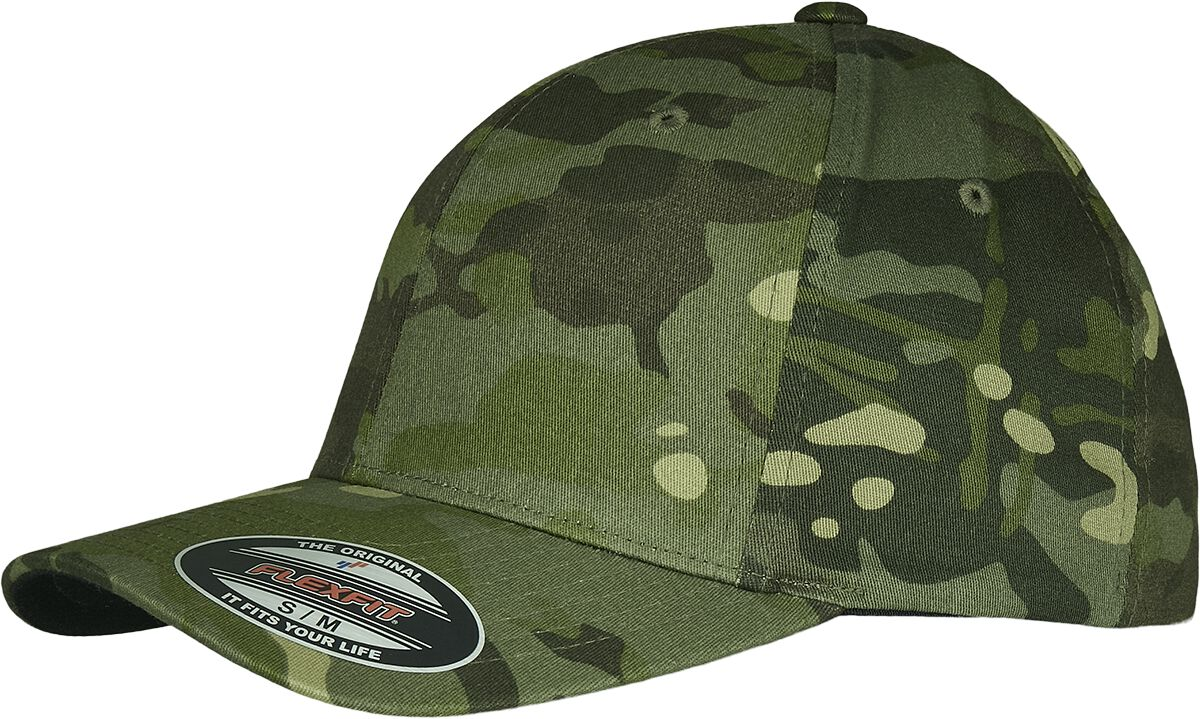 Image of Flexfit Multicam Flexcap woodland