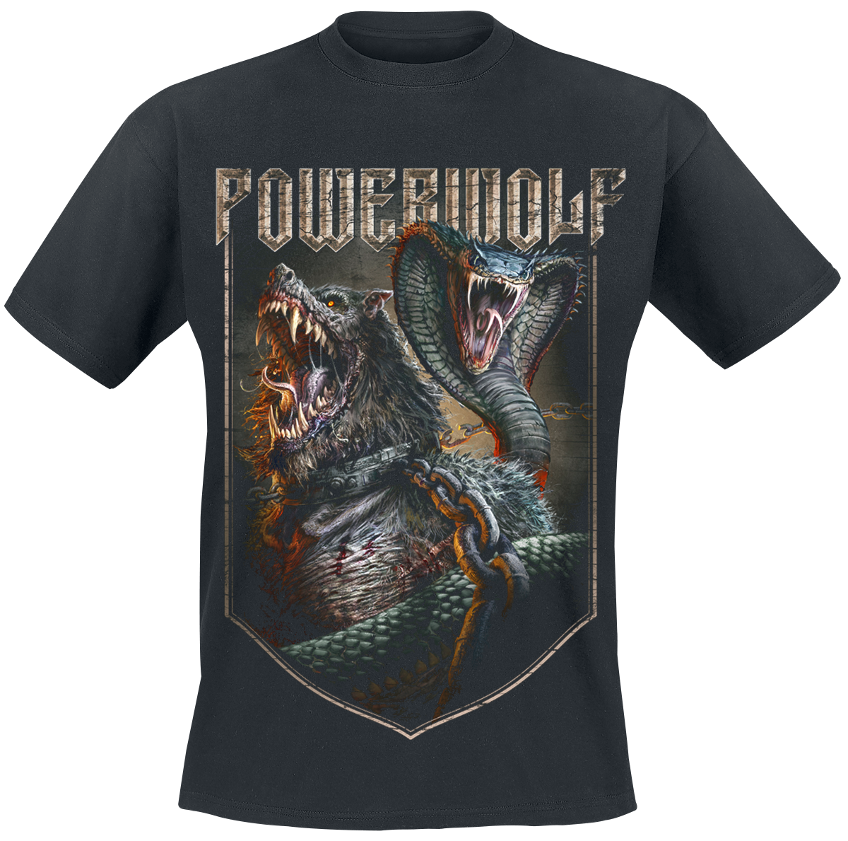 Powerwolf - Kiss Of The Cobra King - T-Shirt - black image