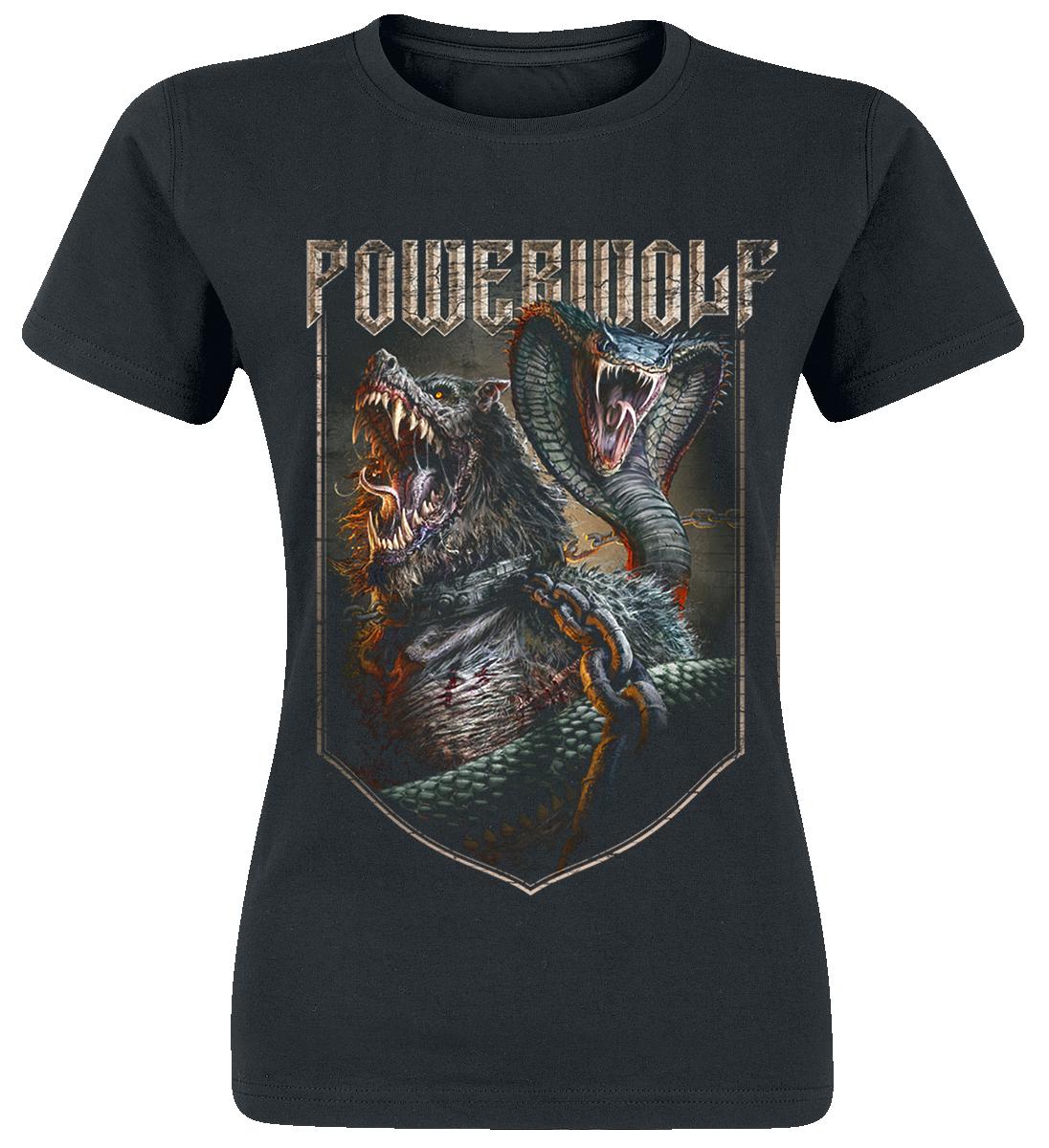 Powerwolf - Kiss Of The Cobra King - Girls shirt - black image