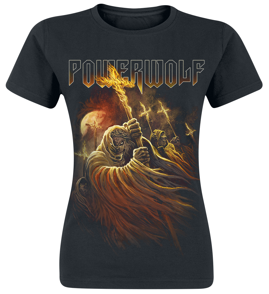 Powerwolf - Kreuzfeuer - Girls shirt - black image