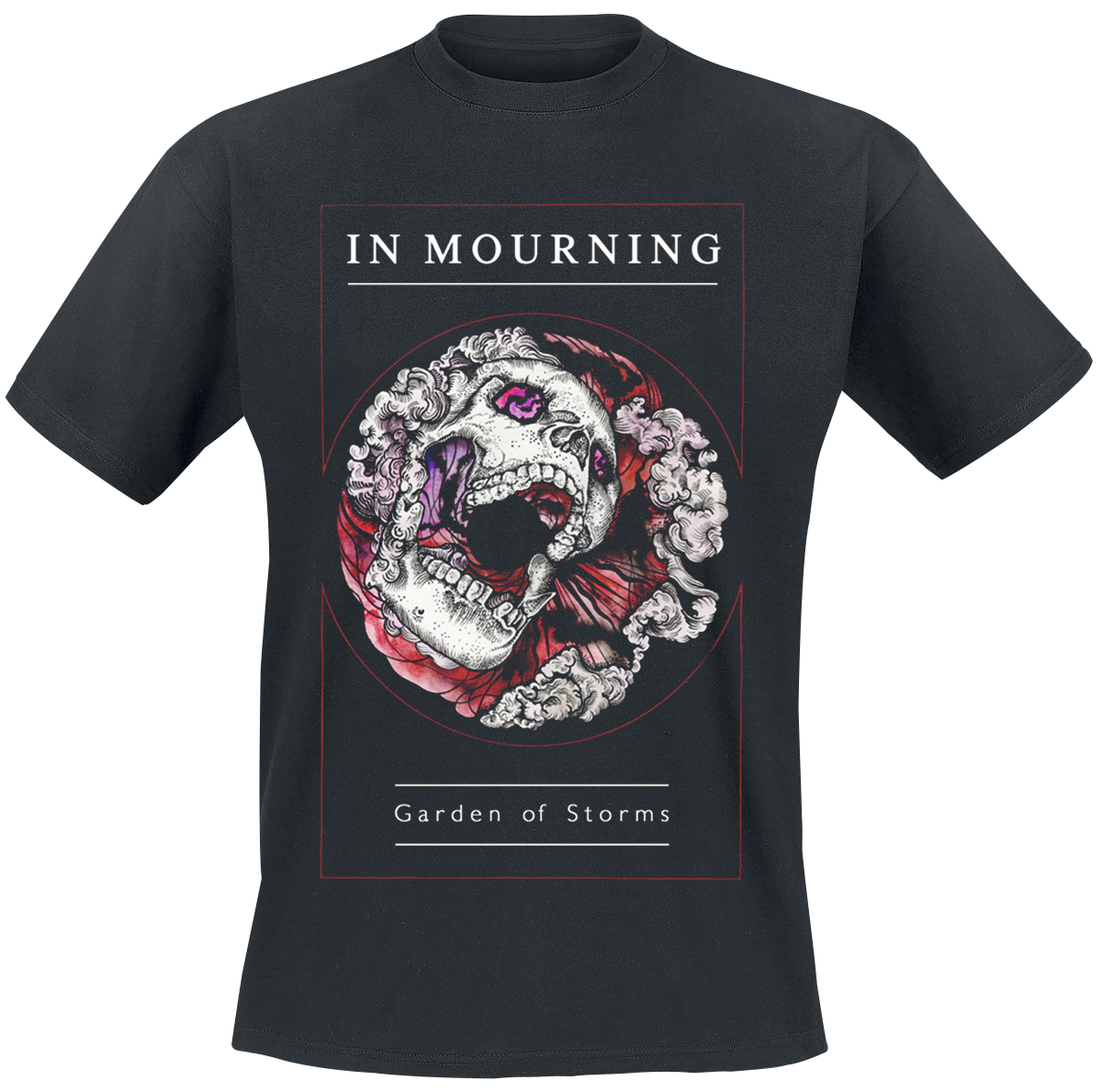 In Mourning - Garden of storms - T-Shirt - Standard image