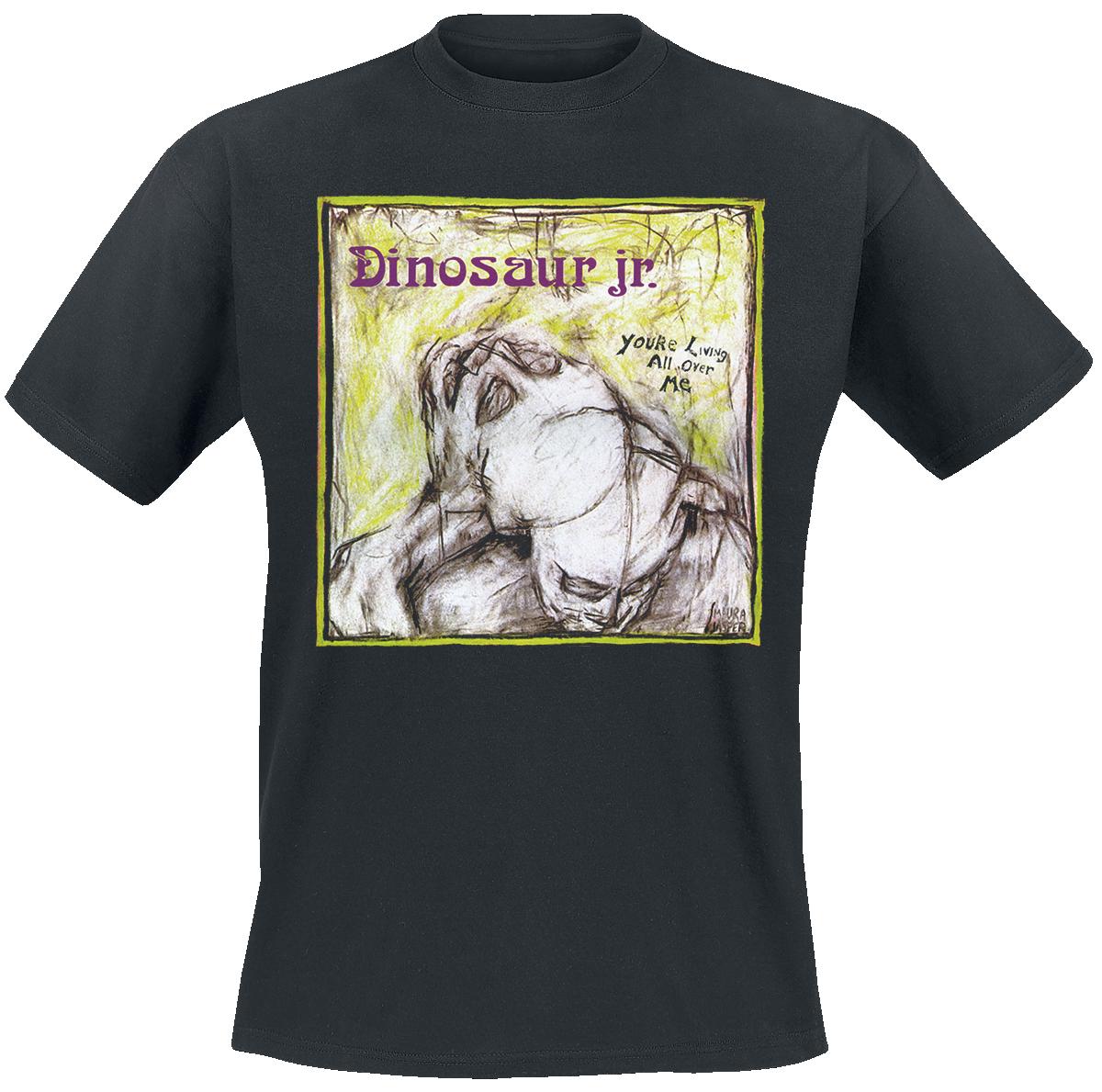 Dinosaur Jr. - You're Living All Over Me - T-Shirt - black image