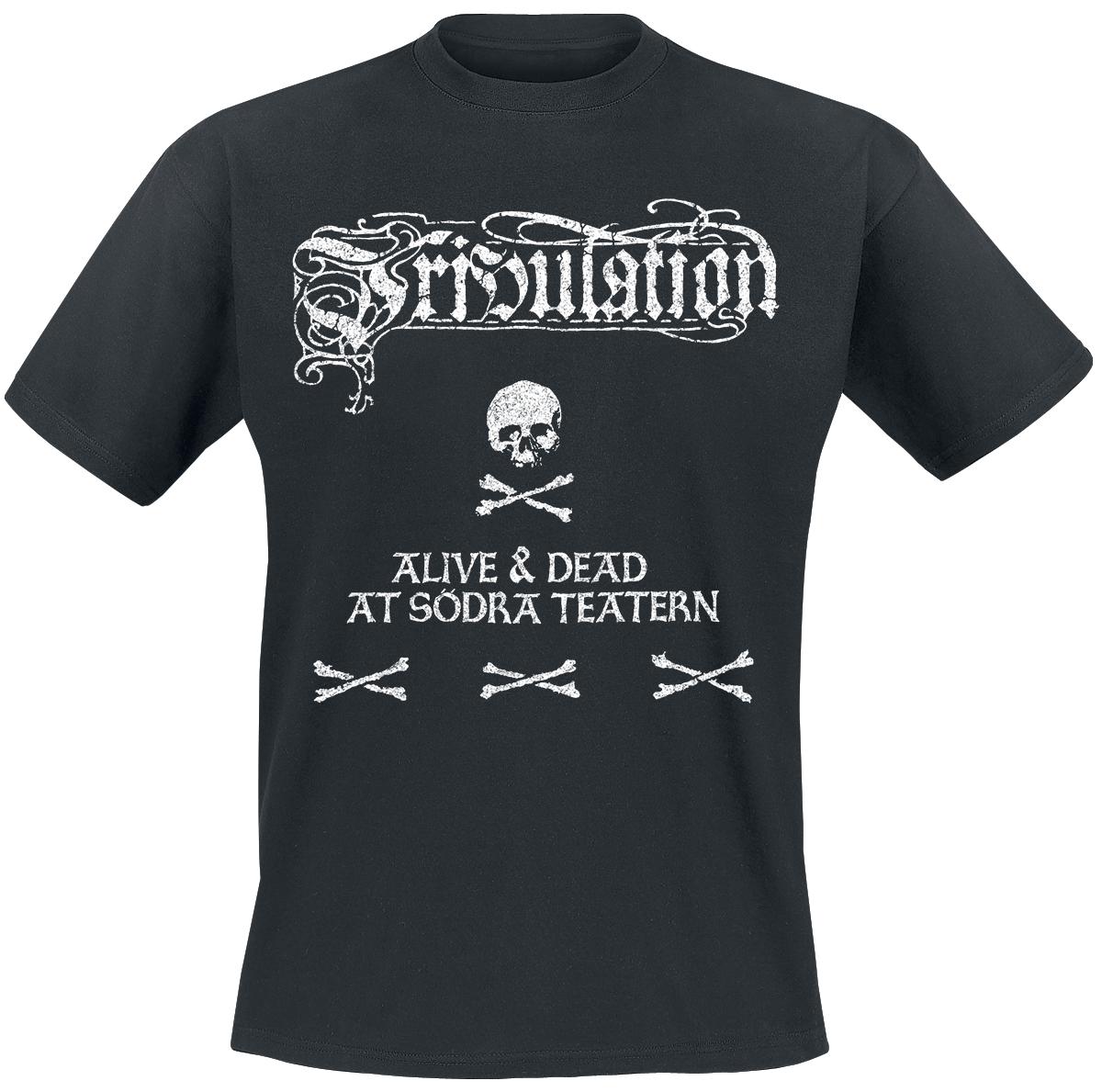 Image of Tribulation Alive & dead at Södra Teatern 2-LP & DVD & T-Shirt Standard