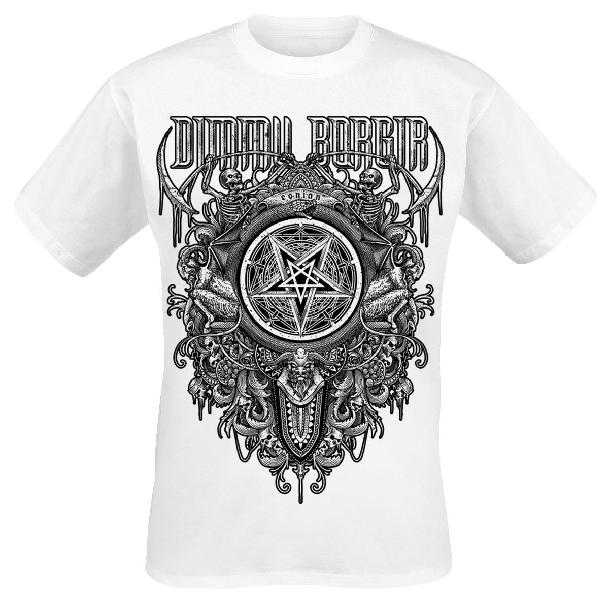Dimmu Borgir - Eonian Pentragram - T-Shirt - white image