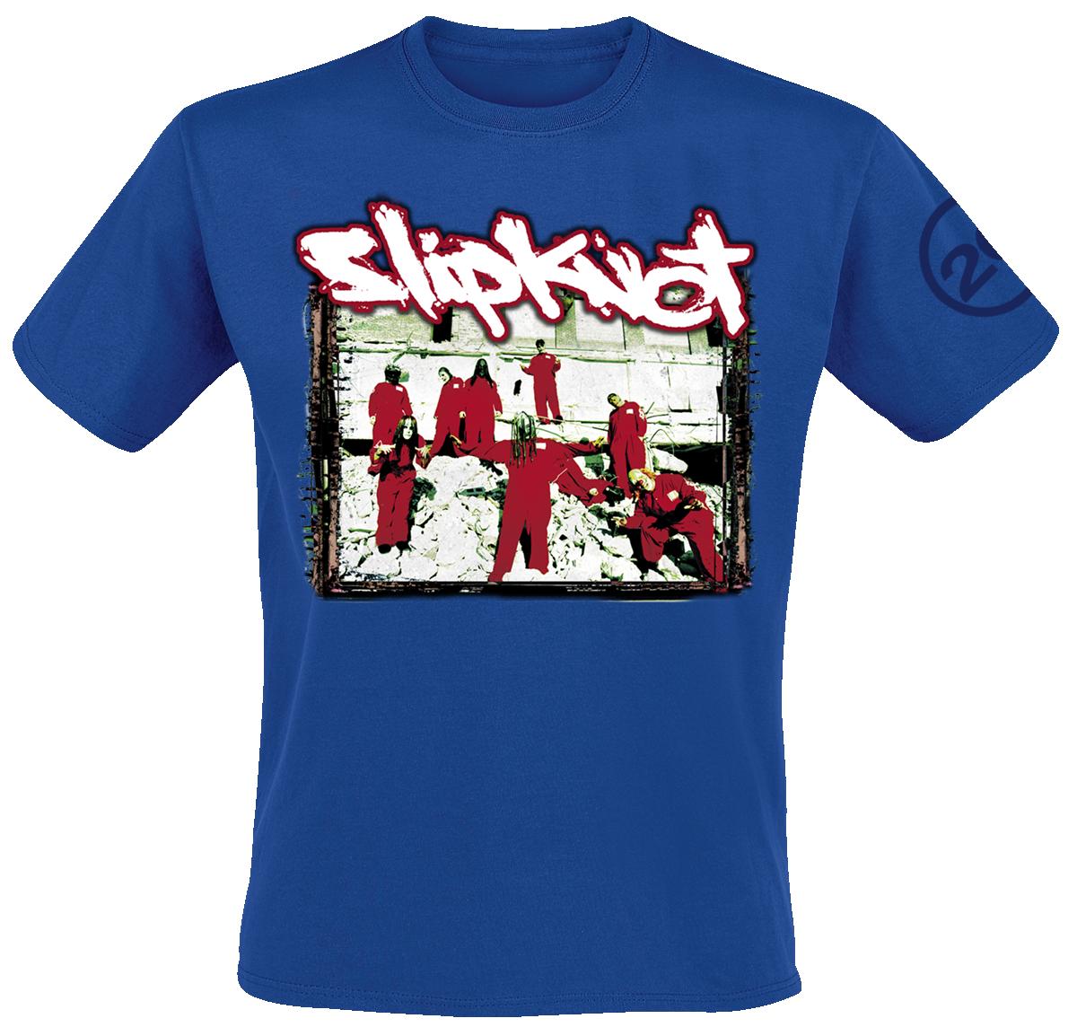 Slipknot - 20th Anniversary Red Jumpsuit - T-Shirt - navy image