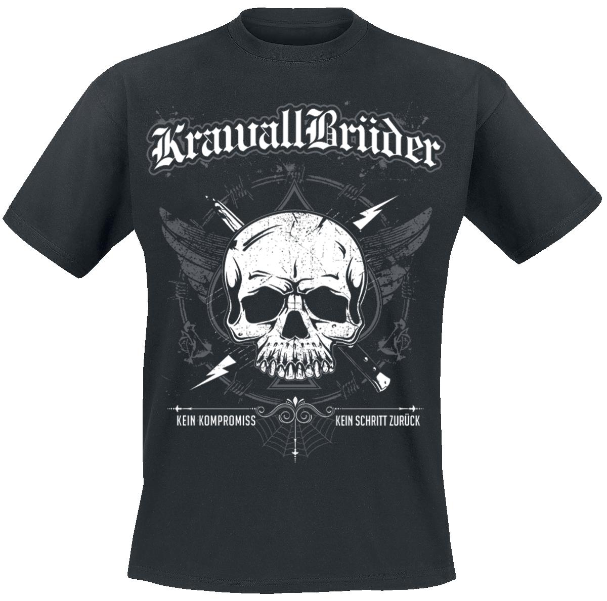 KrawallBrüder - Kein Kompromiss - T-Shirt - black image