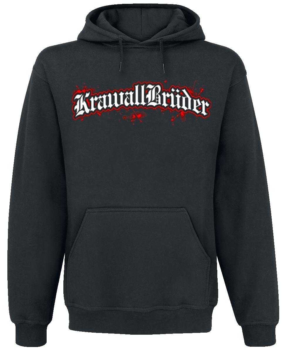 KrawallBrüder - Logo - Hooded sweatshirt - black image