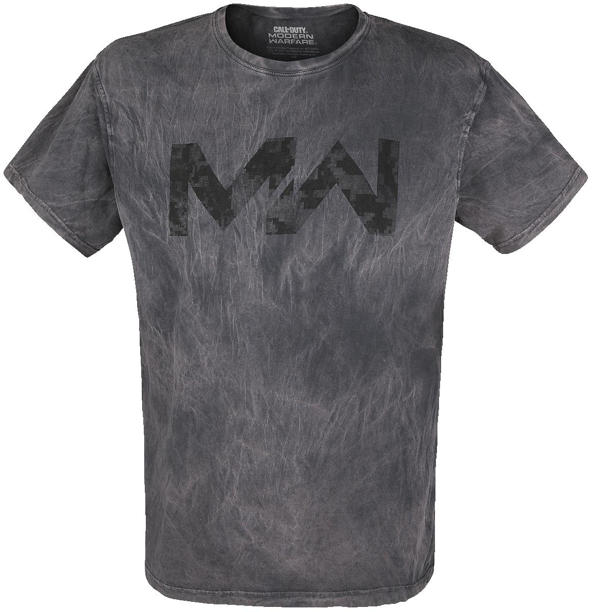 Call Of Duty - Modern Warfare - Logo - T-Shirt - grey image