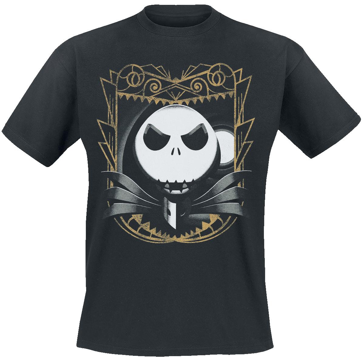 The Nightmare Before Christmas - Jack Art Deco - T-Shirt - black image