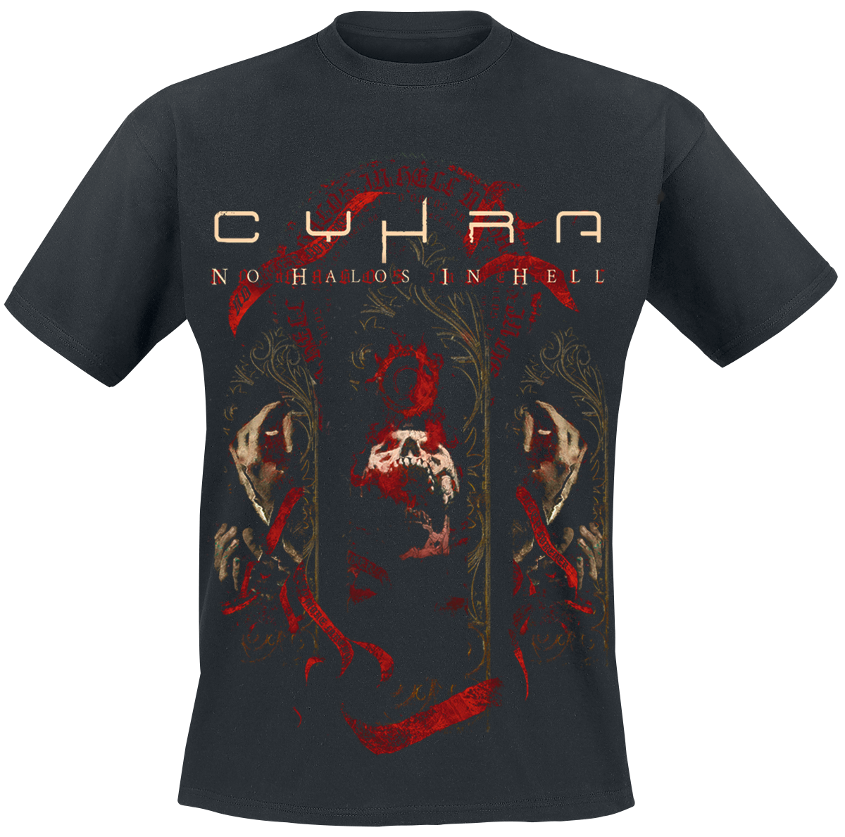 Cyhra - No Halos In Hell - T-Shirt - black image