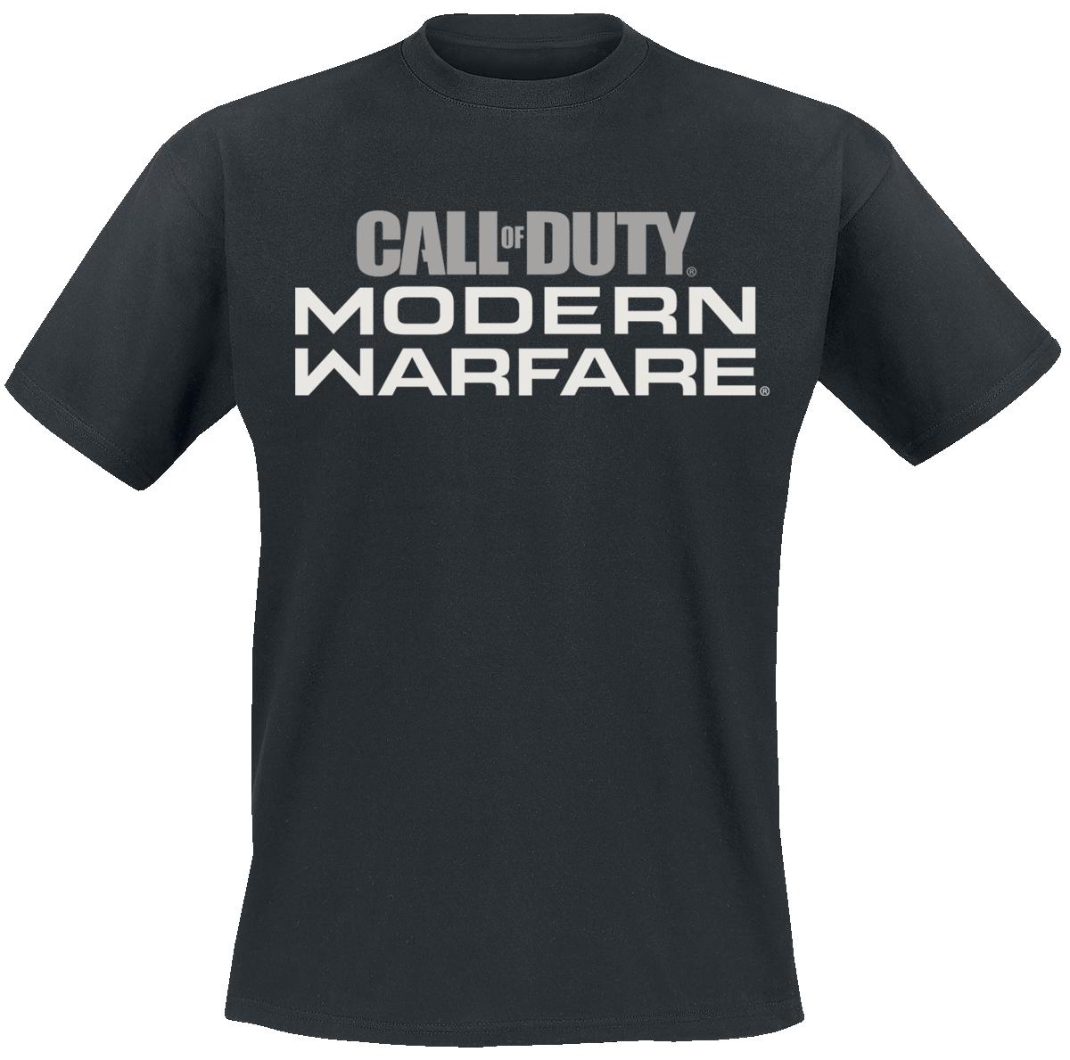 Call Of Duty - Modern Warfare - Logo - T-Shirt - black image
