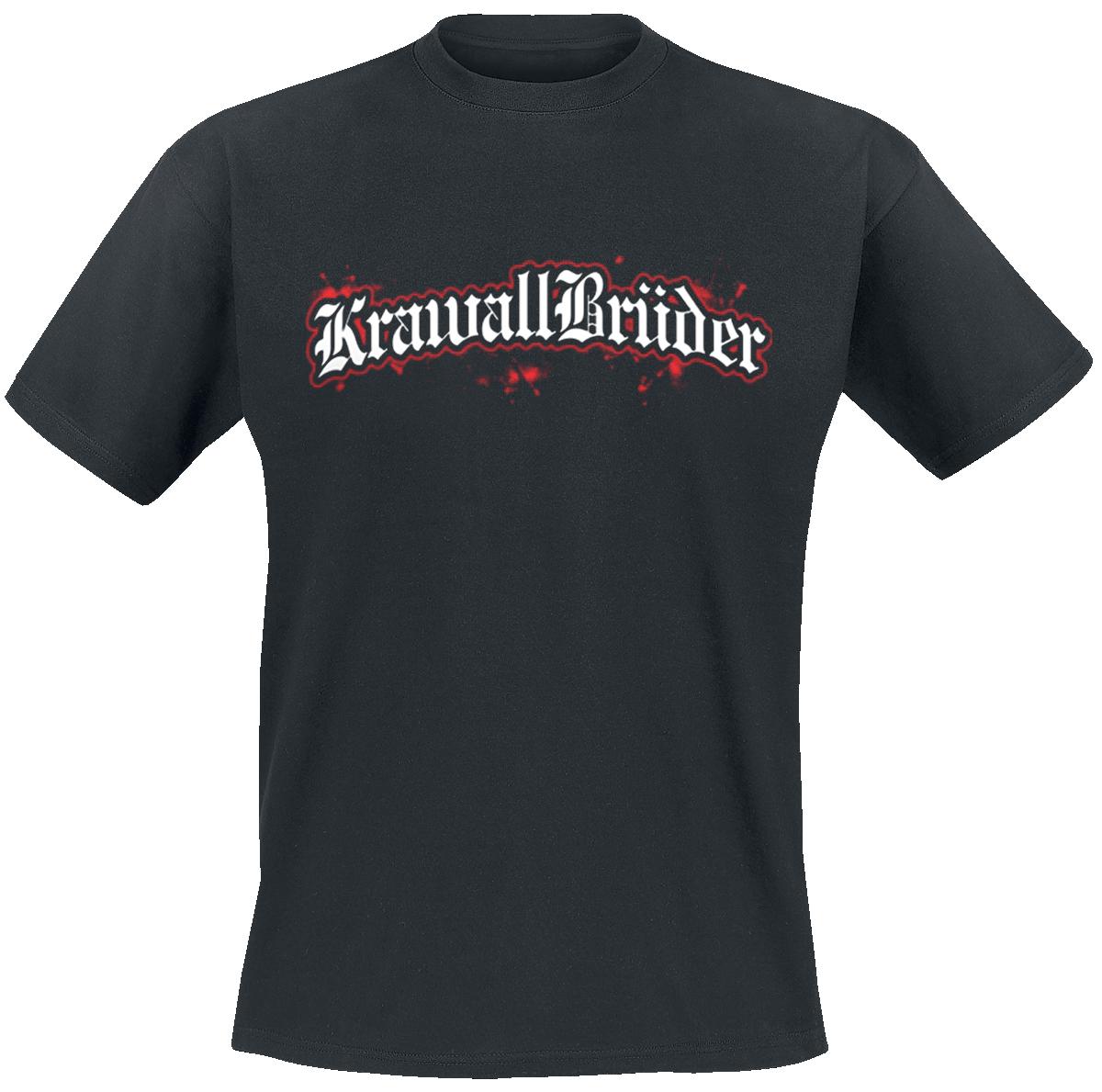 KrawallBrüder - Logo - T-Shirt - black image