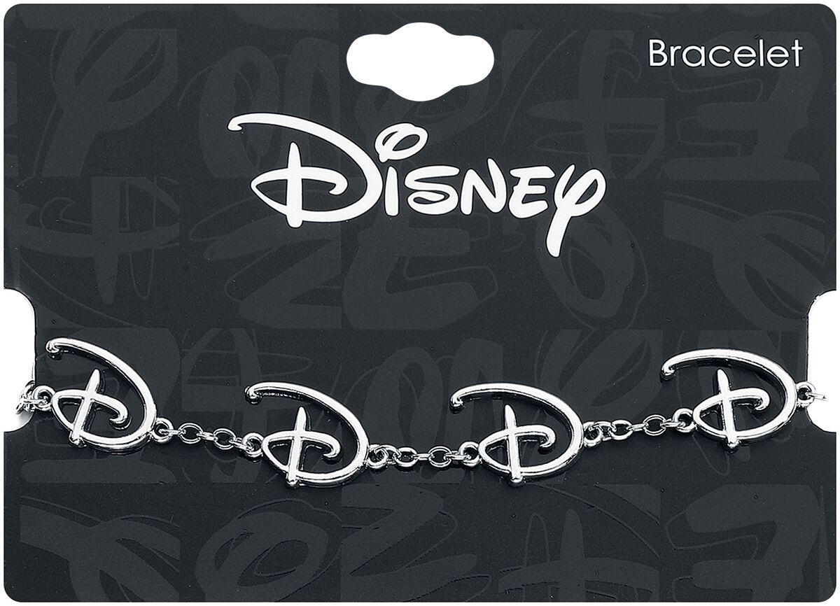 Image of Disney Disney Logo Armband silberfarben