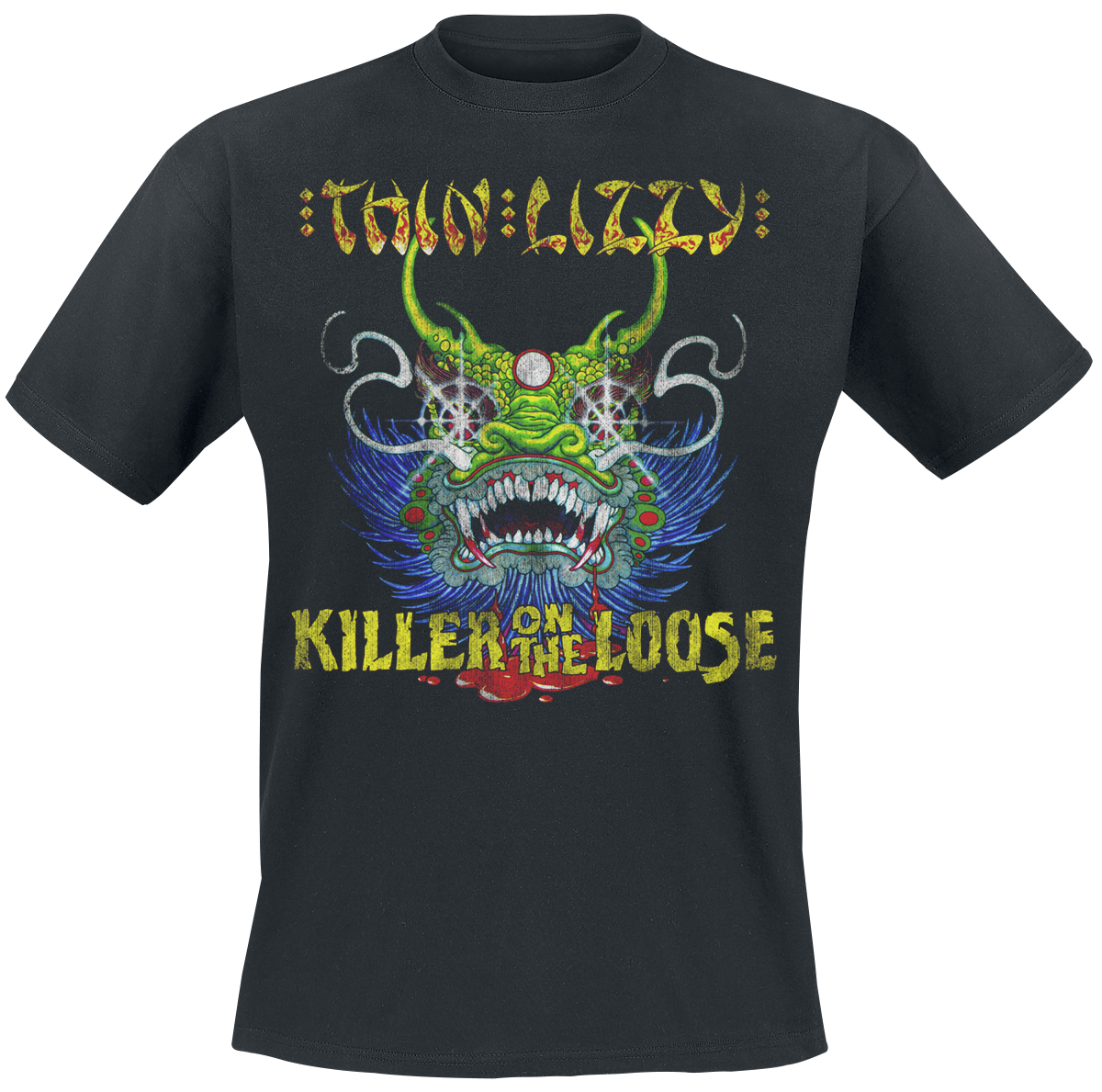 Thin Lizzy - Killer On The Loose - T-Shirt - black image
