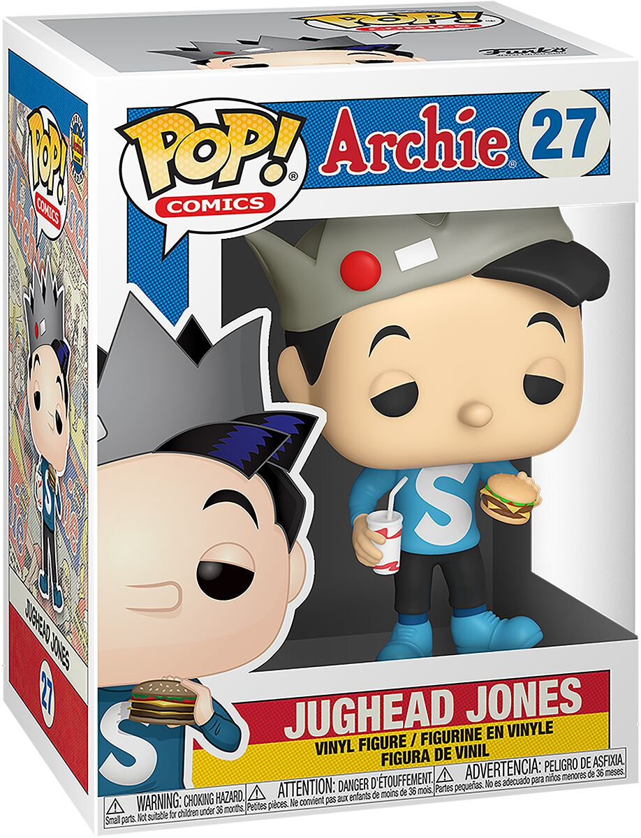 Image of Archie Jughead Jones Vinyl Figur 27 Sammelfigur Standard