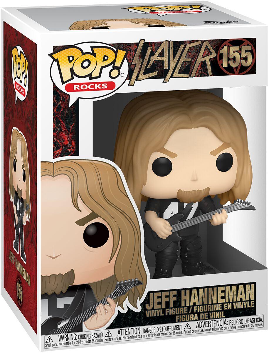 Slayer Jeff Hanneman Vinyl Figur 155 Funko Pop! multicolor 45386