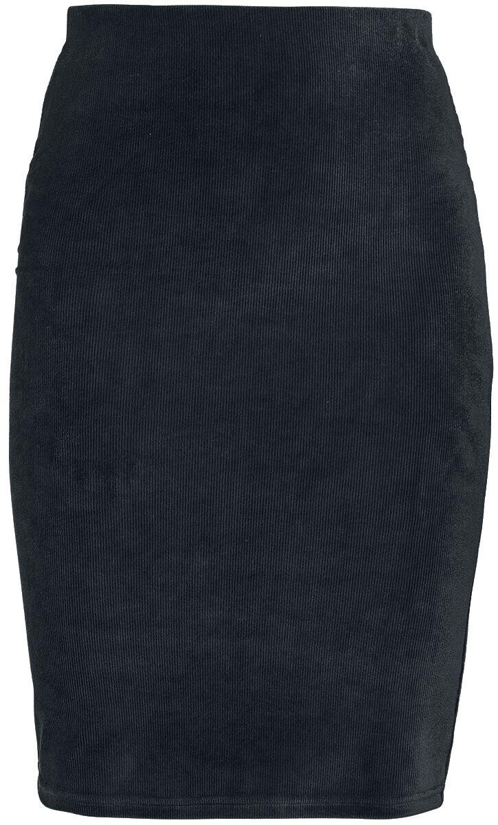 Image of RED by EMP - RED Corduroy Skirt - Minigonna - Donna - nero