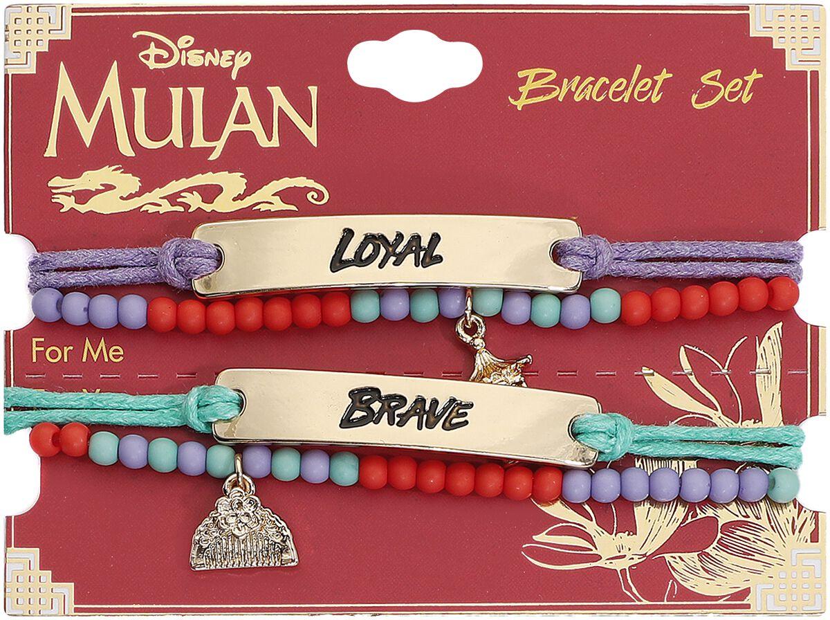 Image of Mulan Brave And Loyal Armband-Set multicolor