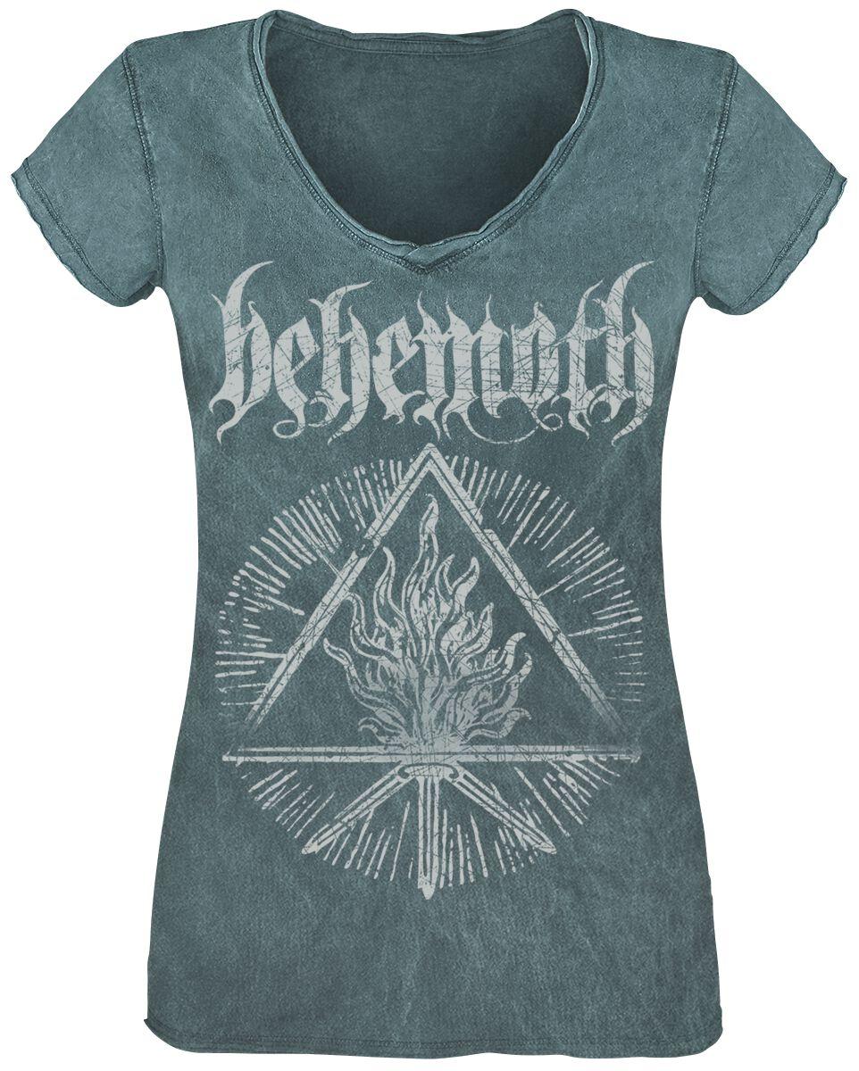 Image of Behemoth Furor Divinus Girl-Shirt petrol