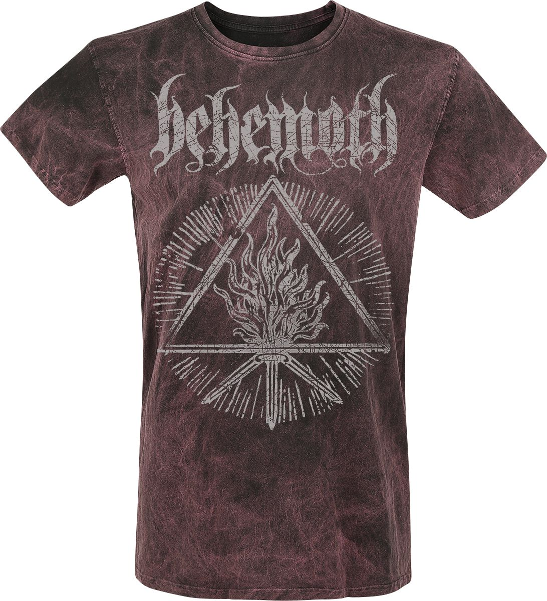 Image of Behemoth Furor Divinus T-Shirt dunkelrot/schwarz