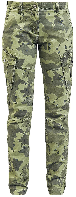 Hosen - Black Premium by EMP Kim Stoffhose camouflage  - Onlineshop EMP