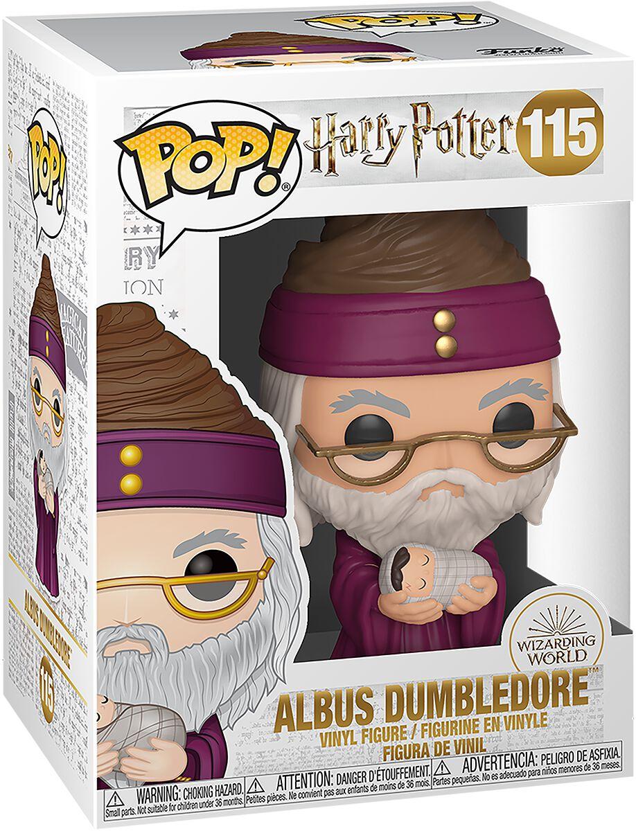 Harry Potter Albus Dumbledore Vinyl Figur 115 Funko Pop! multicolor 48067