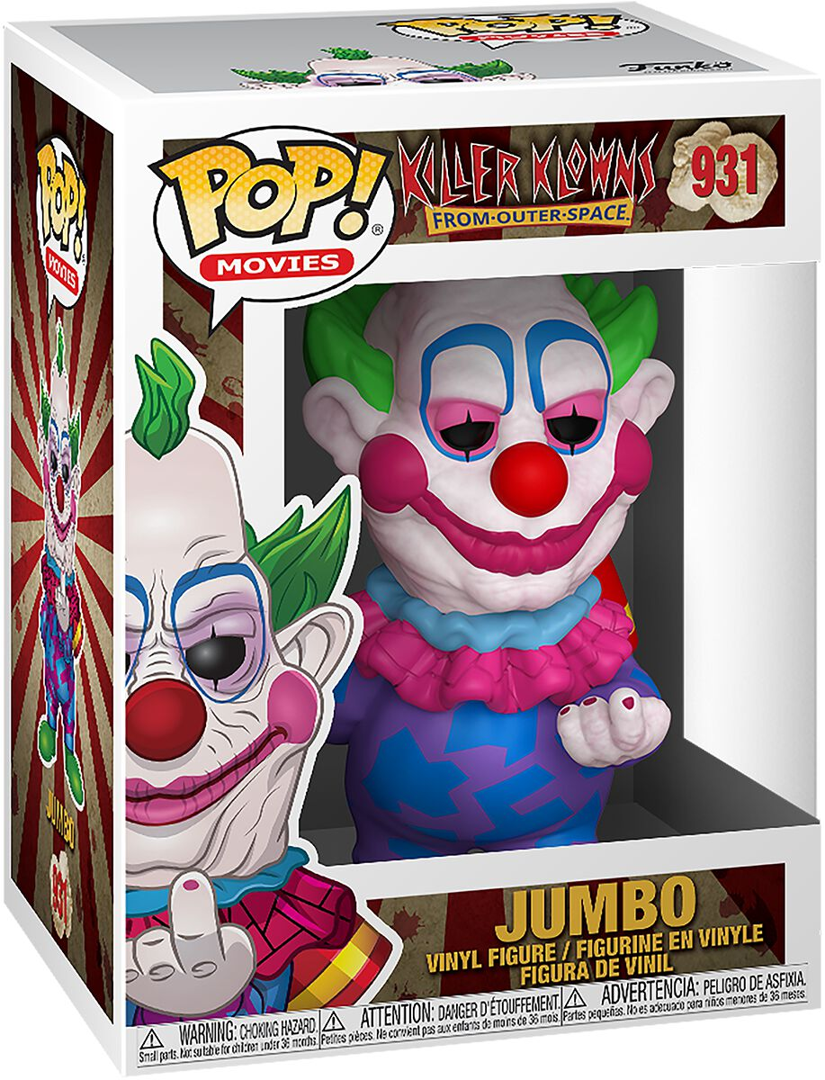 Killer Clowns From Outer Space Jumbo Vinyl Figur 931 Funko Pop! multicolor 44145