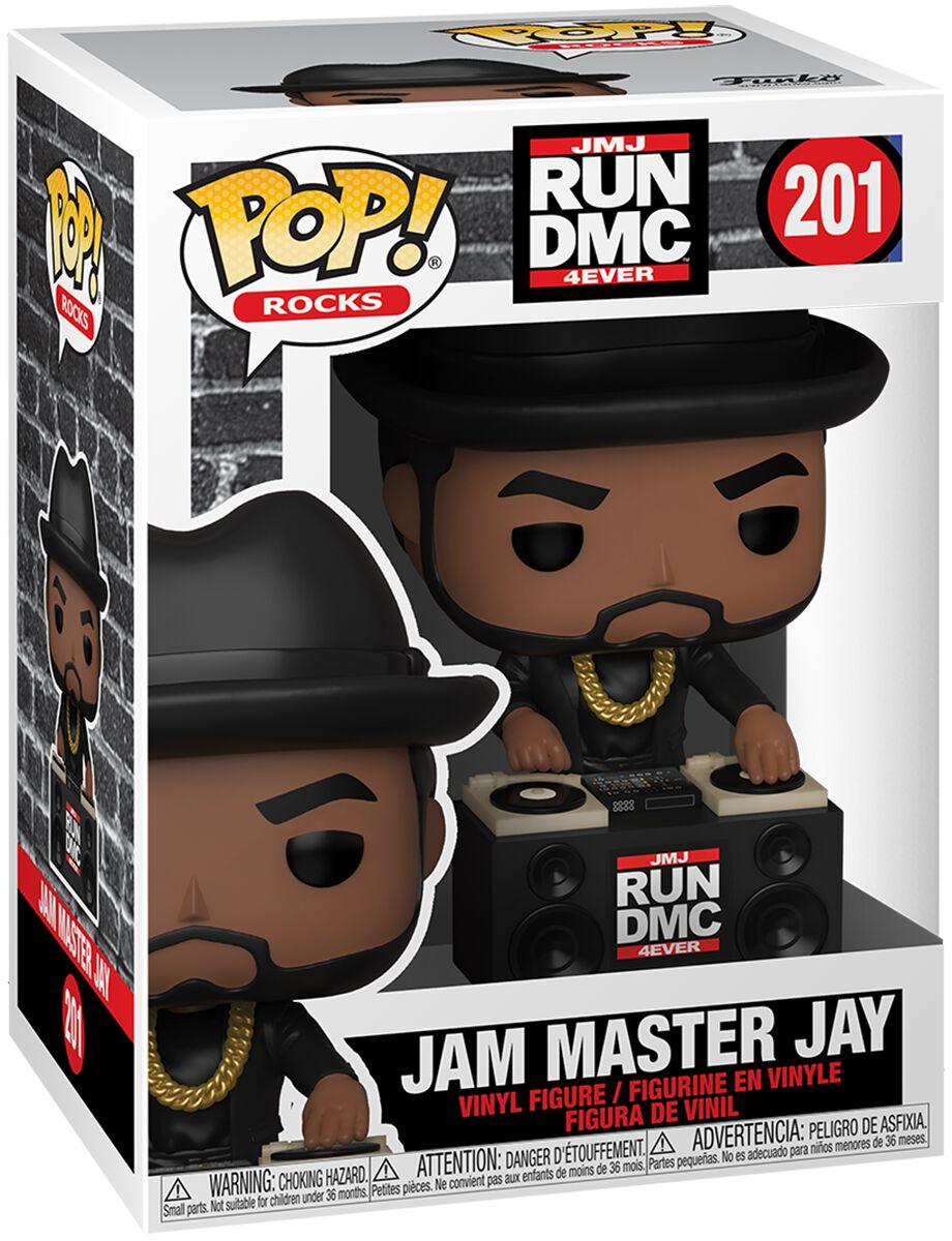 Run DMC Jam Master Jay Rocks Vinyl Figur 201 Funko Pop! multicolor 47166